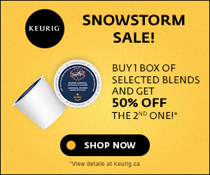 SNOWSTORM SALE! Buy 1 box of selected blends and get 50% off the 2nd one!