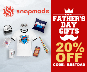 Snapmade 2015 - Father's Day Gifts 20% Off Deals - 336*280