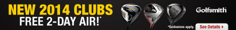 Shop New 2014 Golf Clubs with New Technology to Help Golfers Improve their Distance, Accuracy and Co