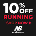 10% off Running Shoes 125x125
