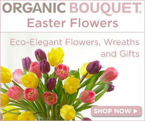 Fresh Eco-Elegant Easter Flowers from $29.95