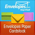 custom envelope business promotion color