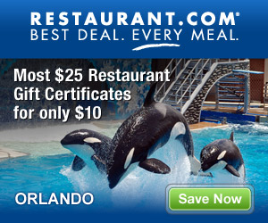 Orlando - Most $25 Gift Certificates for $10