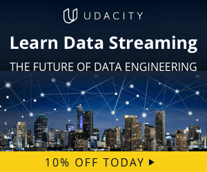 Join Udacity Data Streaming Today!