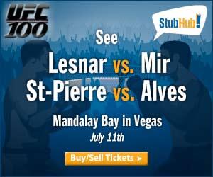 UFC Mandalay Bay July 11, 2009