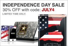 Skinit.com 30% off with code JULY4