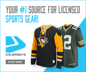 Shop IceJerseys for NHL, NFL & MLB apparel & accessories and get FREE SHIPPING on orders of $85+