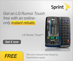 Free LG Rumor Touch