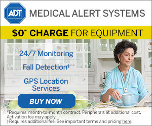 ADT Medical Alert Systems - $0 Charge for Equipment