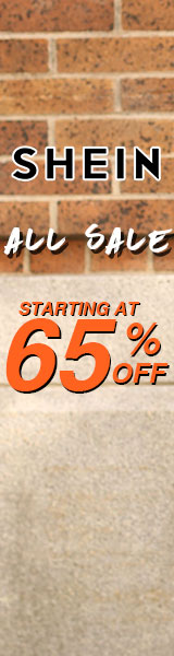 All Sale starting at 65% off!  Visit SheIn.com  Ends 11/12
