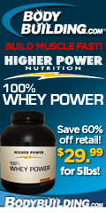 Buy Higher Power Whey Protein for only $21.99!