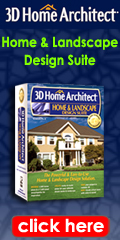 3D Home Architect Home and Landscape Design Suite