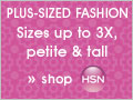 Plus Size Fashions at HSN