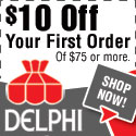 $10 OFF at DelphiGlass.com