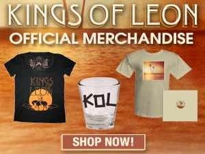 Kings of Leon Official Merchandise - 2011