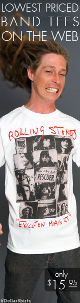 Rolling Stones Exile on Main Street $15.95!