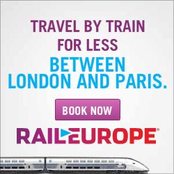 book train travel between London and Paris