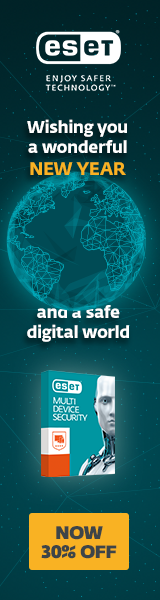 Save 30% in the ESET January Sale