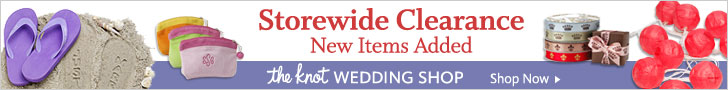 Clearance at The Knot Wedding Shop