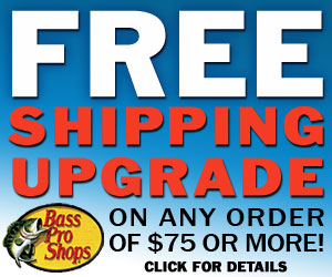 Free Shipping Upgrade at Basspro.com