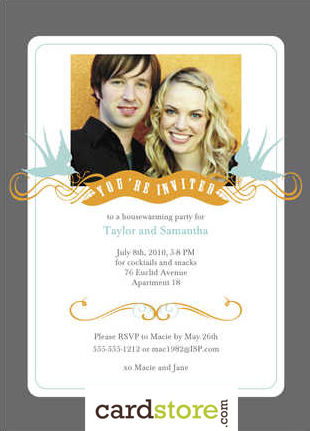 cheap personalized party invitations