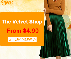 Nothing says fall like ultra-luxe velvet! Check out this amazing collection From $4.90!