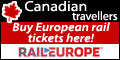 Canadian travellers - Buy European rail tickets