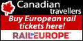Canadian travellers - Buy European rail tickets