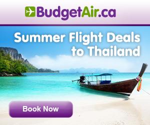 BudgetAir.ca Thailand Sale