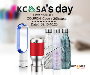 Extra 15% OFF For KCASA Promotion