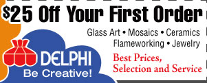$5 OFF at DelphiGlass.com