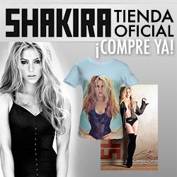 Shakira Tienda Oficial