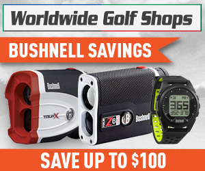 Save up to $100 On Bushnell GPS and Rangefinders at WorldWideGolfShops!