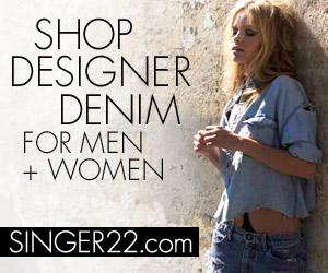 Shop Designer Denim at Singer22.com