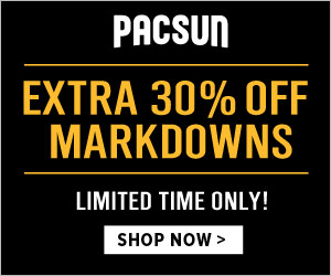 Extra 30 Off Markdowns 300 x 250