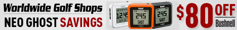 Save $80 on Bushnell Neo Ghost GPS