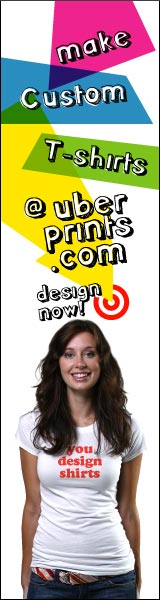 Create Custom Shirts at UberPrints.com