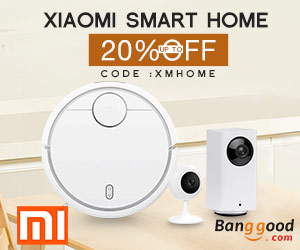 Extra 20% OFF For Xiaomi Smart Home Collection