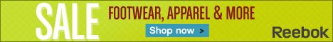 Save up to 40% at Reebok.com