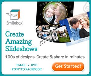 Create amazing slideshows with Smilebox.