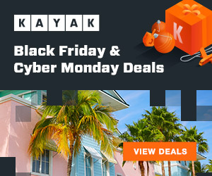 Kayak BF and CM Deals