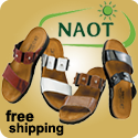 Get the popular Naot Ashley in Cheetah Patent!