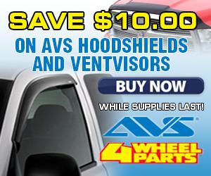 Save $20 on AVS Hood Protector