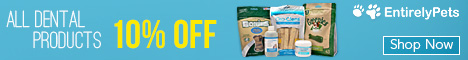 Pet Dental Month - 10% off All Pet Dental Products at EntirelyPets