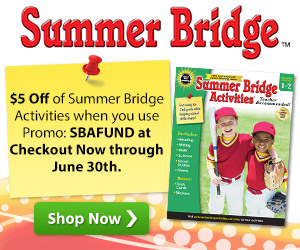 $5 Off Summer Bridge Activities Books Sale