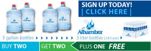Buy Two, Get Two PLUS One Free - Water.com