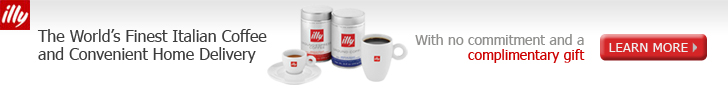 illy Coffee - Home Delivery plus Welcome Gift
