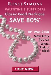 Valentine's Super Deal; Save 80% off Classic Pearl