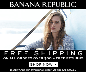 Get free shipping and free returns at Banana Republic