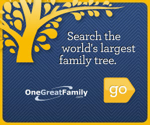 OneGreatFamily The Worlds Largest On-Line Family Tree
